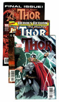 Modern Age (1980-Present):Superhero, Thor #351-605 Long Box Group (Marvel, 1985-09)....