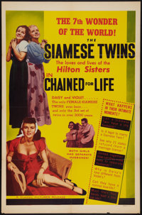 "Chained For Life (Classic Pictures, 1951). One Sheet (27"" X 41""). Exploitation"