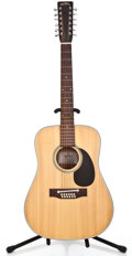 Musical Instruments:Acoustic Guitars, 1980s Sigma Martin DM12-3 Natural 12 String Acoustic Guitar#SK82132...