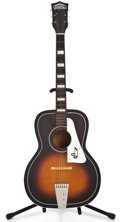 Musical Instruments:Acoustic Guitars, 1960's Truetone Sunburst Acoustic Guitar #L9390...