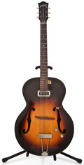 Musical Instruments:Electric Guitars, 1954 Gretsch 6185-6 Sunburst Semi-Hollow Body Electric Guitar#10358...