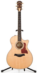Musical Instruments:Acoustic Guitars, 2009 Taylor 414CE-LTD Natural Acoustic Electric Guitar#20090514009...