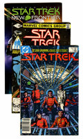 Modern Age (1980-Present):Science Fiction, Star Trek Related Long Box Group (DC/Marvel/IDW, 1970s-00s)....