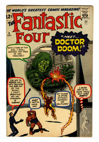 Fantastic Four #5 (Marvel, 1962) Condition: Apparent VG/FN 5.0