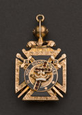 Estate Jewelry:Other , Knights Templar Fob. ...