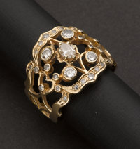 Custom Gold & Diamond Ring