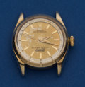 Timepieces:Wristwatch, Rolex 14k Gold Reference 6585 Oyster Presentation Wristwatch. ...