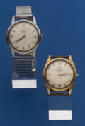 Timepieces:Wristwatch, Two - Omega's Automatics Wristwatches For Repair. ... (Total: 2Items)