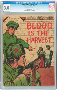 Blood Is the Harvest #nn (Catechetical Guild, 1950) CGC GD/VG 3.0 Off-white to white pages