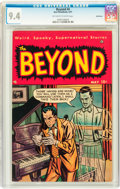 Golden Age (1938-1955):Horror, The Beyond #4 Bethlehem pedigree (Ace, 1951) CGC NM 9.4 Off-whiteto white pages....