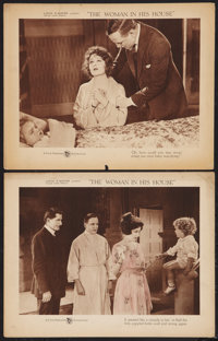 """The Woman in His House (First National, 1920). Lobby Cards (2) (11"""" X 14""""). Drama. ... (Total: 2 Items)"""