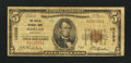 National Bank Notes:Kentucky, Harlan, KY - $5 1929 Ty. 1 The Harlan NB Ch. # 12295. ...