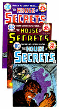 Bronze Age (1970-1979):Horror, House of Secrets #121-154 Group (DC, 1974-78) Condition: AverageVF+.... (Total: 34 Comic Books)