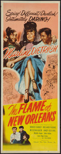 """Movie Posters:Romance, The Flame of New Orleans (Film Classics, R-1948). Insert (14"""" X 36""""). Romance.. ..."""