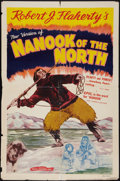 "Movie Posters:Documentary, Nanook of the North (Royal Pictures, R-1940s). One Sheet (27"" X 41""). Documentary.. ..."