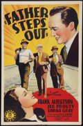 """Movie Posters:Comedy, Father Steps Out (Monogram, 1941). One Sheet (27"""" X 41""""). Comedy.. ..."""