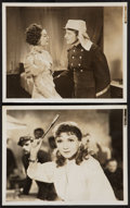 "Movie Posters:Adventure, Under Two Flags (20th Century Fox, 1936). Photos (2) (8"" X 10"").Adventure.. ... (Total: 2 Items)"
