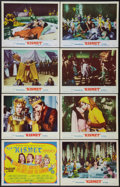 "Movie Posters:Musical, Kismet (MGM, 1956). Lobby Card Set of 8 (11"" X 14""). Musical.. ... (Total: 8 Items)"