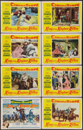 "Movie Posters:Adventure, King of the Khyber Rifles (20th Century Fox, 1954). Lobby Card Setof 8 (11"" X 14""). Adventure.. ... (Total: 8 Items)"