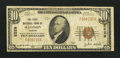 National Bank Notes:Kansas, Madison, KS - $10 1929 Ty. 1 The First NB Ch. # 5529. ...