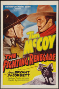"""Movie Posters:Western, The Fighting Renegade (Victory, 1939). One Sheet (27"""" X 41""""). Western.. ..."""