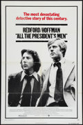 "Movie Posters:Drama, All the President's Men (Warner Brothers, 1976). One Sheet (27"" X41""). Drama.. ..."