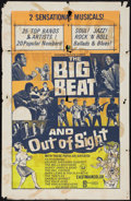 "Movie Posters:Rock and Roll, The Big Beat/Out of Sight Combo (Universal, R-1966). One Sheet (27""X 42""). Rock and Roll.. ..."