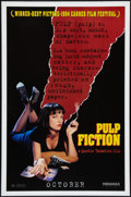 "Movie Posters:Crime, Pulp Fiction (Miramax, 1994). One Sheet (27"" X 41"") SS Advance.Crime.. ..."
