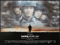 "Movie Posters:War, Saving Private Ryan (Paramount, 1998). British Quad (30"" X 40"") DS.War.. ..."
