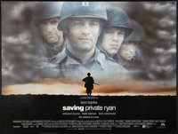 "Saving Private Ryan (Paramount, 1998). British Quad (30"" X 40"") DS. War"