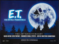 "Movie Posters:Science Fiction, E.T. The Extra-Terrestrial (Universal, R-2002). 20th Anniversary British Quad (30"" X 40"") DS. Science Fiction.. ..."