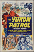 "Movie Posters:Adventure, The Yukon Patrol (Republic, 1942). One Sheet (27"" X 41"").Adventure.. ..."