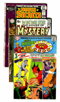 Silver Age (1956-1969):Horror, House of Mystery/House of Secrets Group (DC, 1967-71) Condition:Average FN+.... (Total: 11 Comic Books)