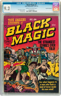 Golden Age (1938-1955):Horror, Black Magic #2 Palo Alto pedigree (Prize, 1950) CGC NM- 9.2 Creamto off-white pages....