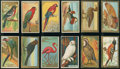 "Non-Sport Cards:Sets, 1910-12 T42 and T43 Mecca and Sweet Caporal ""Bird Series"" (108)...."