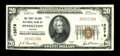 National Bank Notes:Oregon, Pendleton, OR - $20 1929 Ty. 1 The First Inland NB Ch. # 13576. ...