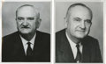 Autographs:Photos, Adolph Rupp Signed Photograph. Basketball coach at the Universityof Kentucky from 1930 to 1972, Hall of Fame member Adolph...