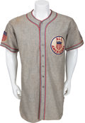 Baseball Collectibles:Uniforms, 1934 Lou Gehrig Tour of Japan Game Worn Uniform....