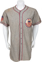 Featured item image of 1934 Lou Gehrig Tour of Japan Game Worn Uniform....