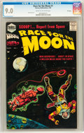 Silver Age (1956-1969):Science Fiction, Race For the Moon #1 File Copy (Harvey, 1958) CGC VF/NM 9.0 Creamto off-white pages....