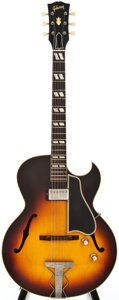 Musical Instruments:Electric Guitars, 1961 Gibson ES-175 Sunburst Archtop Electric Guitar, #10160....