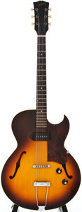 Musical Instruments:Electric Guitars, 1967 Gibson ES-125TC Sunburst Semi-Hollow Body Electric Guitar, #306673....