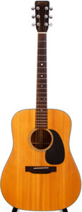 Musical Instruments:Acoustic Guitars, 1968 Martin D-18 Natural Acoustic Guitar, #239034....