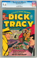 Golden Age (1938-1955):Crime, Dick Tracy Comics Monthly #57 File Copy (Harvey, 1952) CGC NM+ 9.6 Cream to off-white pages....