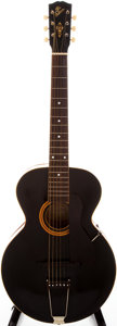 Musical Instruments:Acoustic Guitars, 1921 Gibson L-3 Black Archtop Acoustic Guitar, #65814....