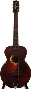 Musical Instruments:Acoustic Guitars, 1917 Gibson L-3 Sunburst Archtop Acoustic Guitar, #32513....