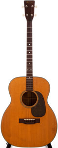 Musical Instruments:Acoustic Guitars, 1951 Martin 0-18T Natural Acoustic Tenor Guitar, #118270....