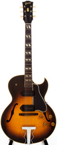 Musical Instruments:Electric Guitars, 1954 Gibson ES-175-D Sunburst Semi-Hollow Body Electric Guitar,#A-18675 FONX9326....