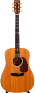 Musical Instruments:Acoustic Guitars, 1995 Martin D-35 Natural Acoustic Guitar, #561032....