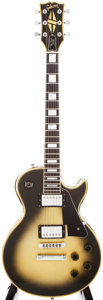 Musical Instruments:Electric Guitars, 1979 Gibson Les Paul Custom Silverburst Solid Body Electric Guitar,#73539523....